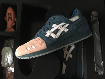 Asics x Ronnie Fieg Gel Lyte III Salmon ''Toe 2.0'' US9 - photo 1/4