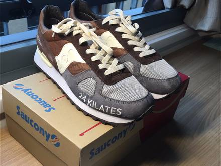 24 Kilates x Saucony Shadow Original 'Mar y Montaña' - photo 1/5