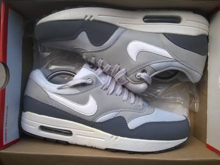 "Nike Air Max 1 ""Essential"" (Grey Ones Retro) - photo 1/3"