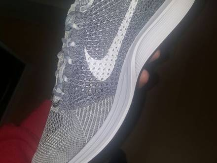 Nike Flyknit Racer Pure Platinum yeezy nmd ultra boost - photo 1/6
