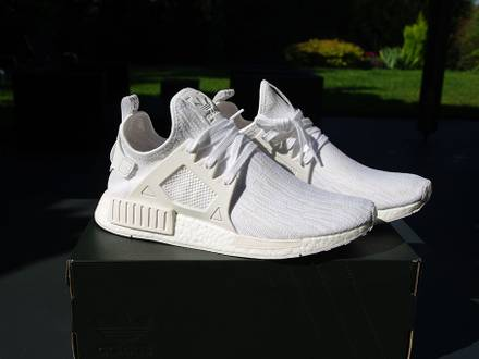 <strong>Adidas</strong> <strong>NMD</strong> <strong>XR1</strong> Triple White PK - photo 1/5