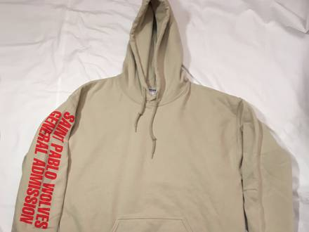 WOLVES SAND HOODIE - photo 1/3