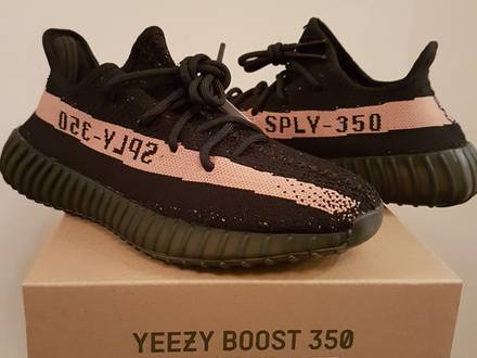 adidas Yeezy Boost 350 V2 Infant (Black / Red) BB6372