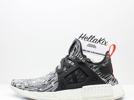 <strong>Adidas</strong> <strong>NMD</strong> <strong>XR1</strong> PK Glitch Black/White Sample - photo 1/6