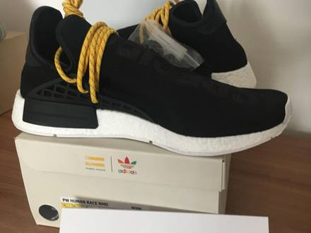 Adidas x Pharrell Williams Human Race HU NMD 'Black' Deadstock US10.5 - photo 1/7