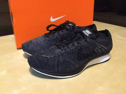 Nike Nikelab Flyknit Racer Blackout - photo 1/3
