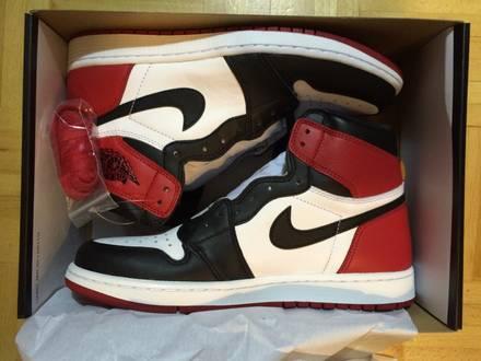 Nike Jordan Black Toe US9,5 - photo 1/3