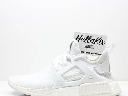 <strong>Adidas</strong> <strong>NMD</strong> <strong>XR1</strong> PK Glitch White/White Sample - photo 1/6