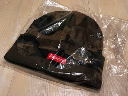 SUPREME SS16 CAMO BEANIE - photo 1/3