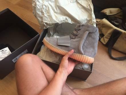 Adidas Yeezy boost 750 grey/gum - photo 1/3