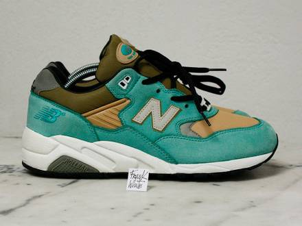 New Balance 580 MT580AT Stussy Mad Hectic - 9.5US - photo 1/8