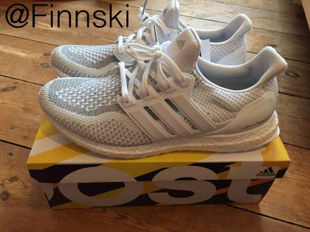 Adidas Ultra Boost LTD Triple White 3M Reflective Size 45 (US11, UK10.5) - photo 1/4
