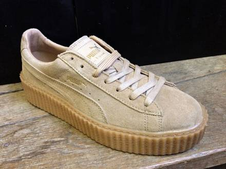 Puma Fenty by Rihanna Suede Creepers Beige Avoine 361005-03 - photo 1/7
