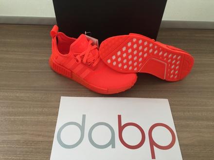 Adidas NMD R1 Solar Red Size Uk 7 - photo 1/5