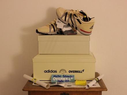 Overkill x Adidas Equipment Racing 93 Taxi - photo 1/6