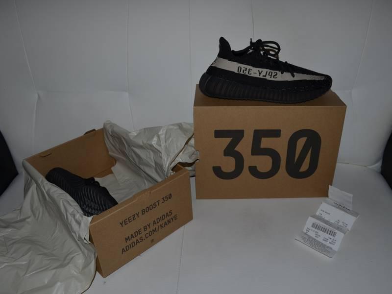 Adidas Yeezy Boost 350 V2 Black/White Size: US: 8.5 EU: 42. BY1604 - photo 5/8