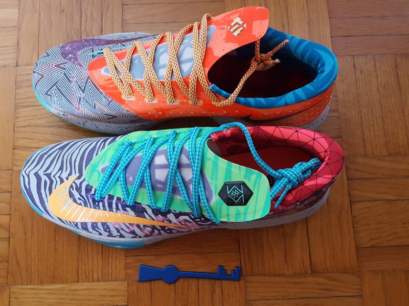 Nike KD 6 Premium What The - photo 4/4