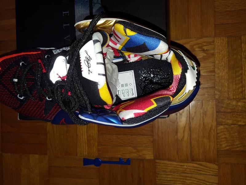 Nike Lebron XII 12 SE What the Lebron - photo 3/5