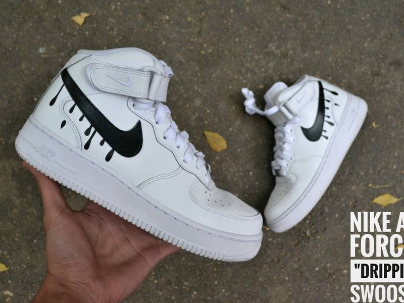 nike air force dripping