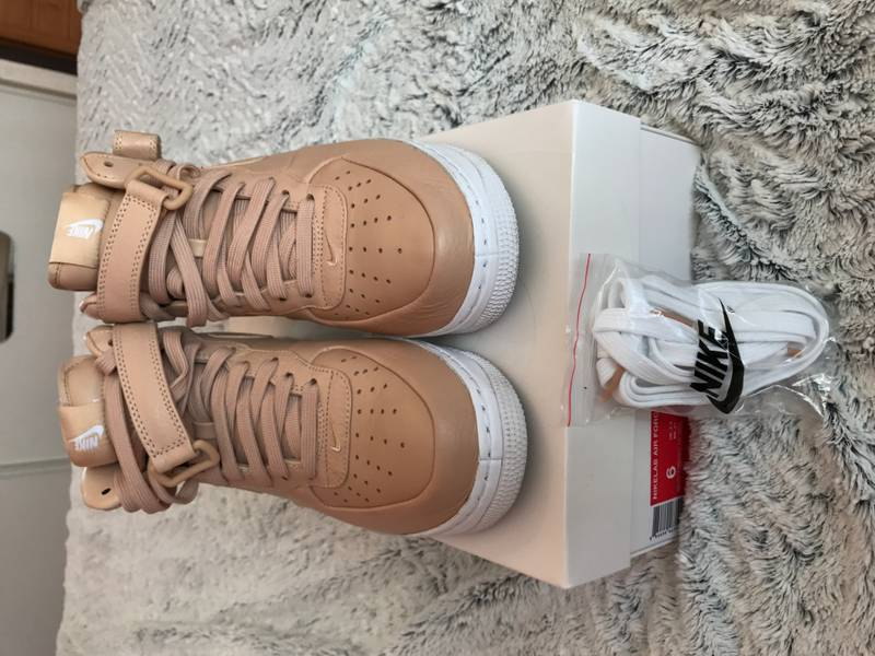 Nike Lab Air Force 1 MID Vachetta Tan - photo 2/4
