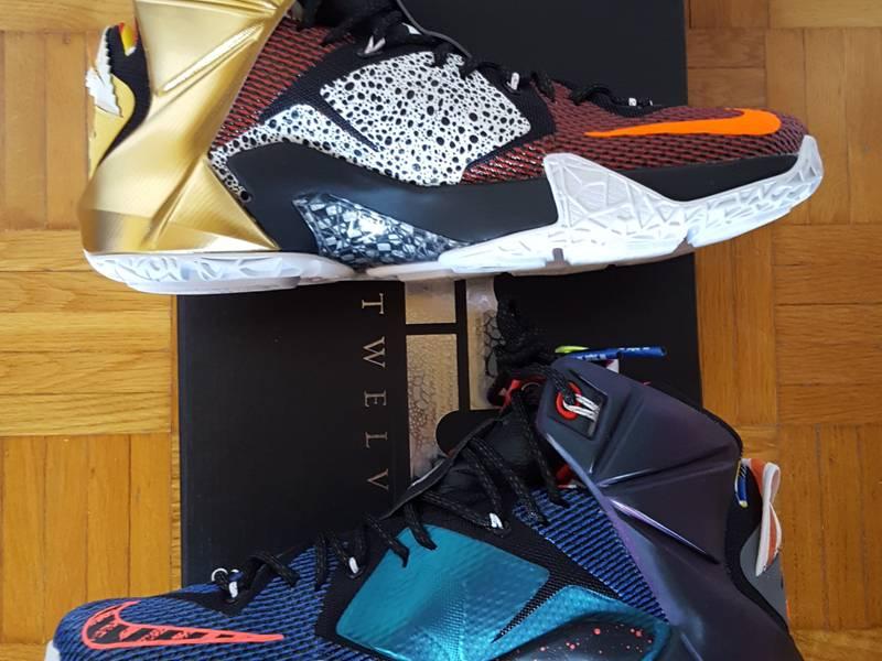 Nike Lebron XII 12 SE What the Lebron - photo 4/5