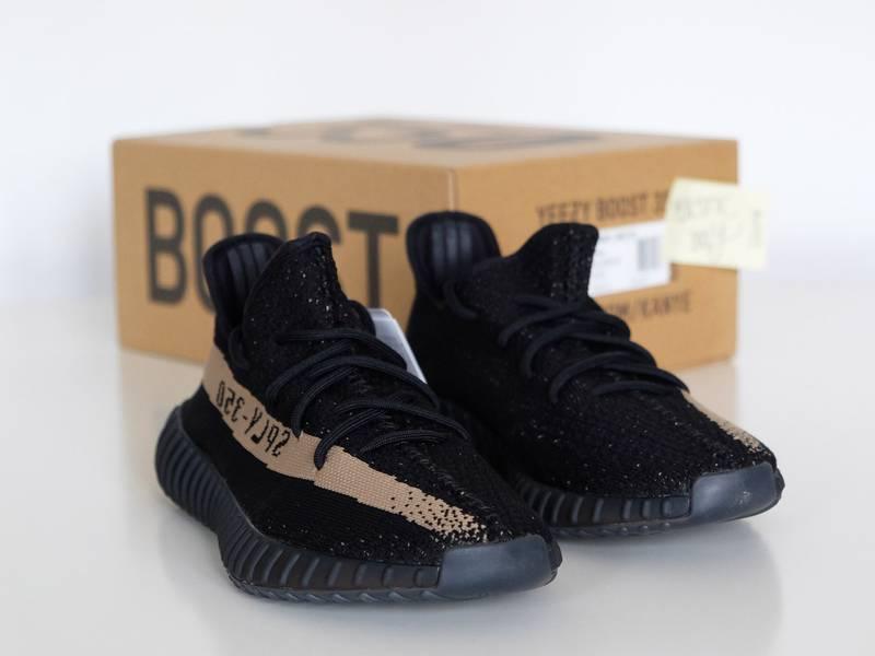 Wholesale 9th UA Kanye West Yeezy Boost 350 V2 SPLY 350 Black