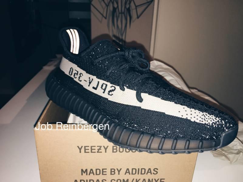 5bfc04d6e735e Adidas Yeezy 350 V2 Core Black Core White Oreo BY1604