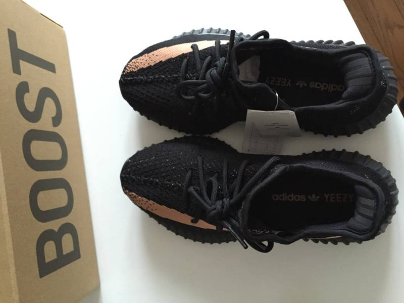 Adidas Yeezy Boost 350 v2 BY 1605 Copper UK 9 43 1/3 (# 981672