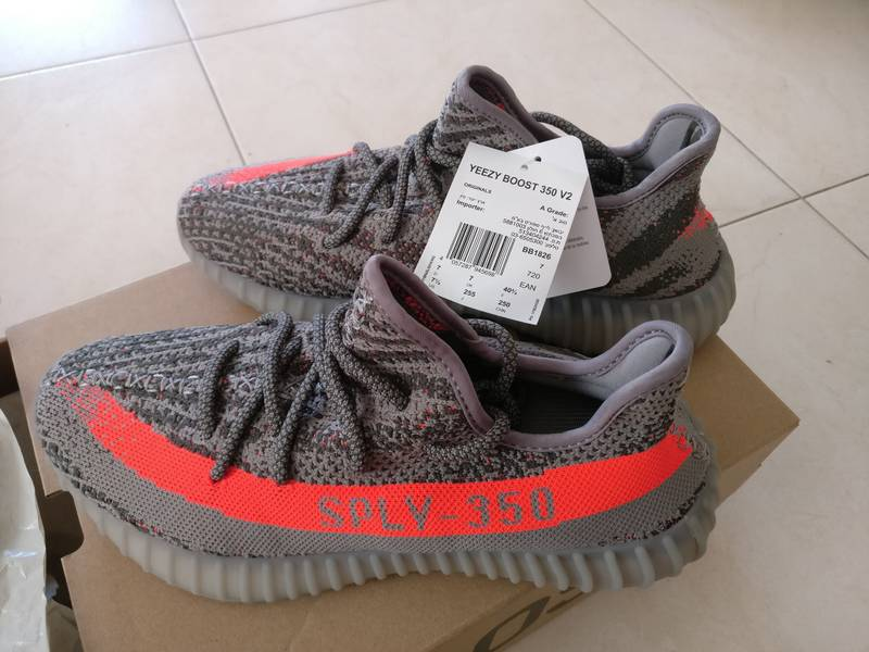 Adidas Yeezy Boost 350 V2 by9612 RED (#992491) from K'lekt