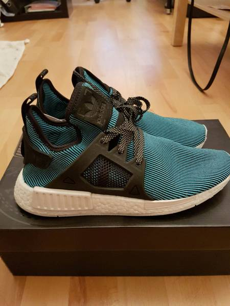 ADIDAS NMD XR1 W PK GLITCH CAMO ICE PURPLE 6 6.5 GREY