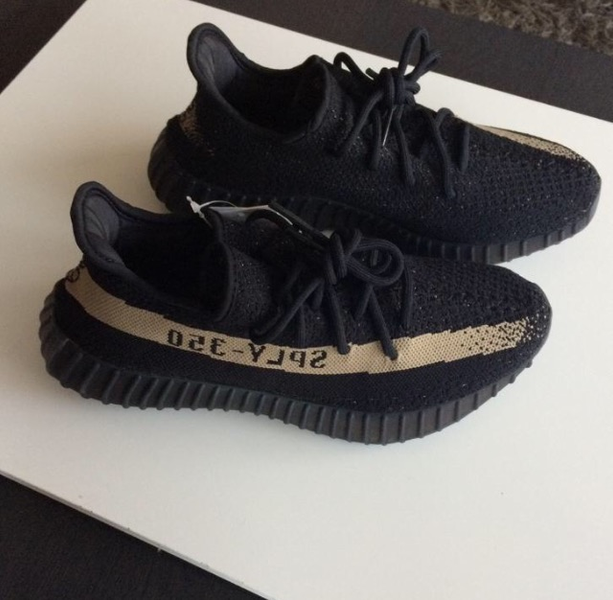 Adidas Yeezy Boost 350 V 2 Black / Green Byrdwalks Byrdwalks
