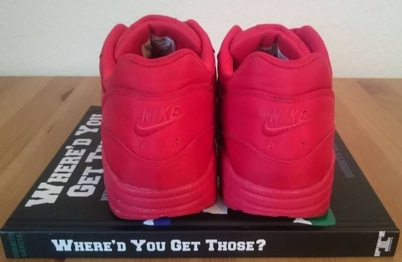 Nike Air Max 1 Attack Pack Red - photo 3/4