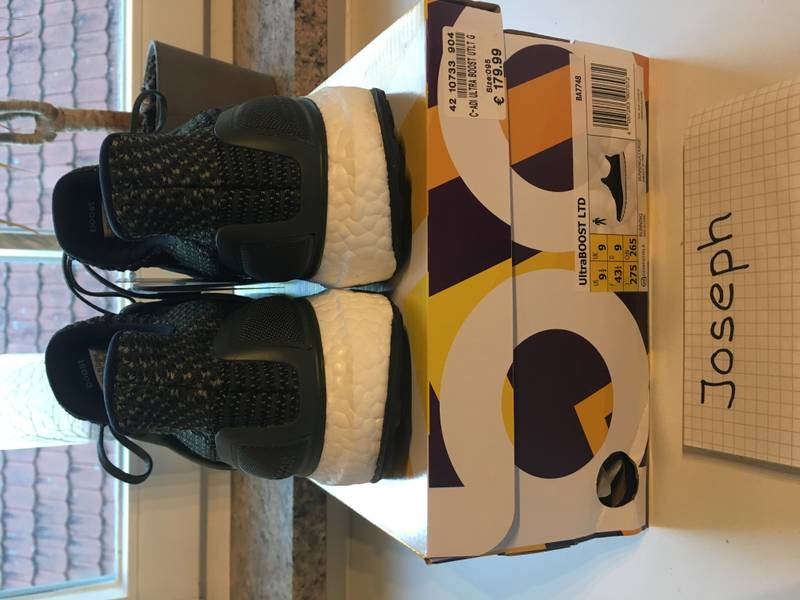 100% Authentic BNIB Trace Cargo Olive Green Adidas Ultra Boost 3.0