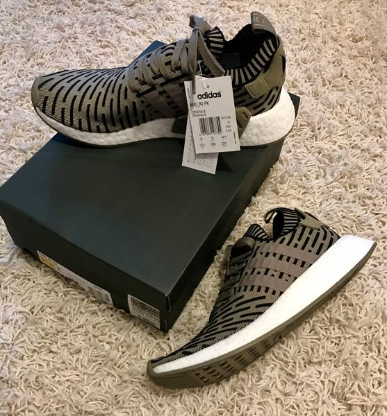 Cheap Adidas US Couple NMD Runner PK Oreo Trainers