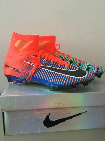 low priced 6edd0 aae65 Nike Football X EA Sports Mercurial Superfly FG Cramoisi total