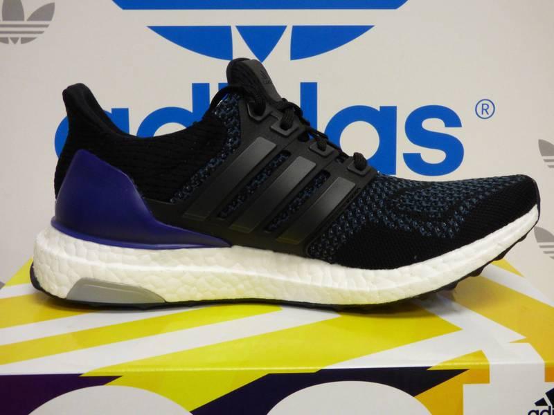 adidas ultra boost 1 0 core black uk10 5 9 10 condition cheap