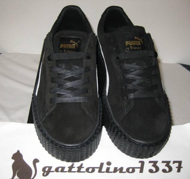 puma shoes suede black. rihanna x puma creepers suede black star eu: 40.5 new - photo 2/8 shoes s