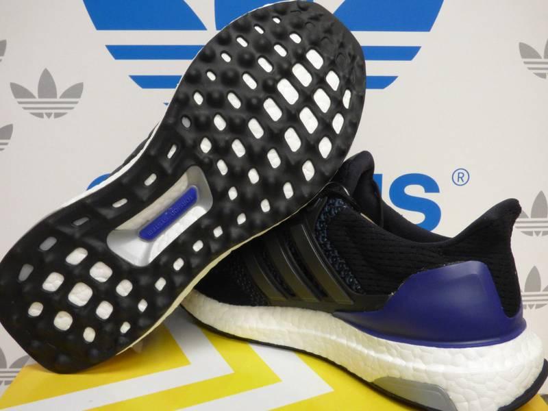 Adidas Ultra Boost 1.0 Og Core Black Purple (B27171) Size 9.5  284 ... 4517c4fab