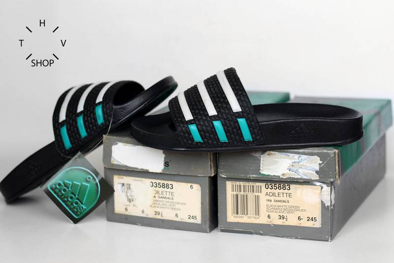 f625269720f5ca 1991 Adidas Equipment Adilette sandals VINTAGE EQT slides DS BNWB deadstock  90s Made in Slovenia -