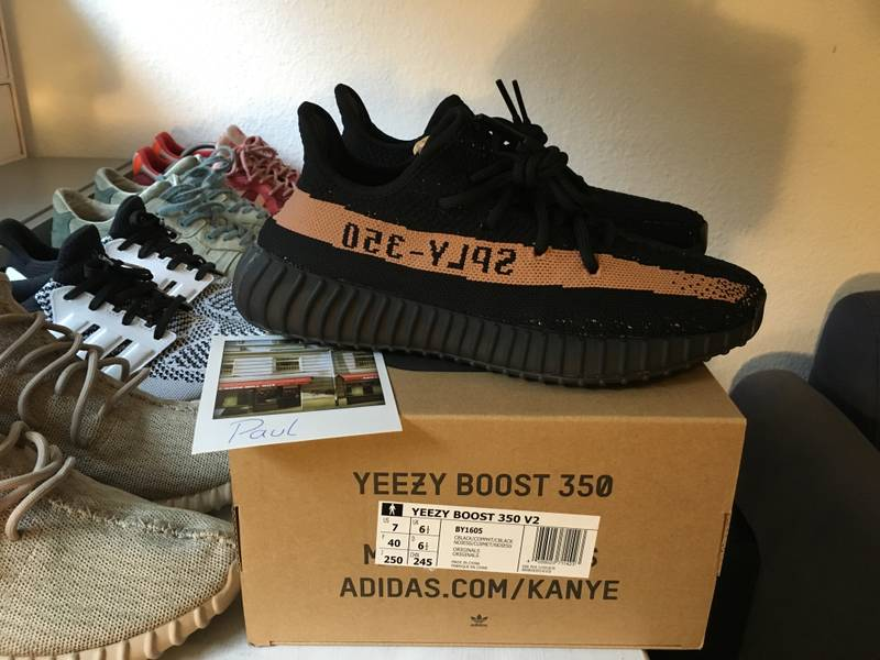 Adidas Yeezy Boost 350 v2 Black Red Authentic 10.5