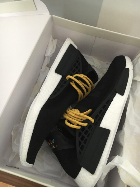 Adidas Human Race NMD BLACK BB3068 boost Yeezy Pharrell