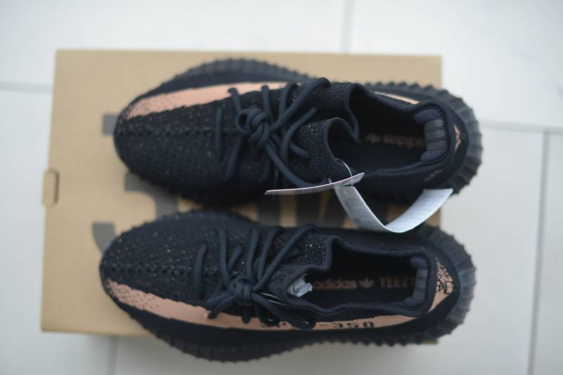 Adidas Yeezy Boost 350 v2 Black Copper BY 1605 Size 5 Ready to