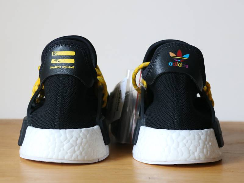 Pharrell x adidas HU NMD 'Human Species' Black Could Be Landing