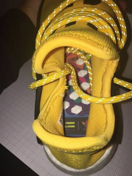 2017 2018 Human Race Nmd Factory Real Boost Yellow Red Green