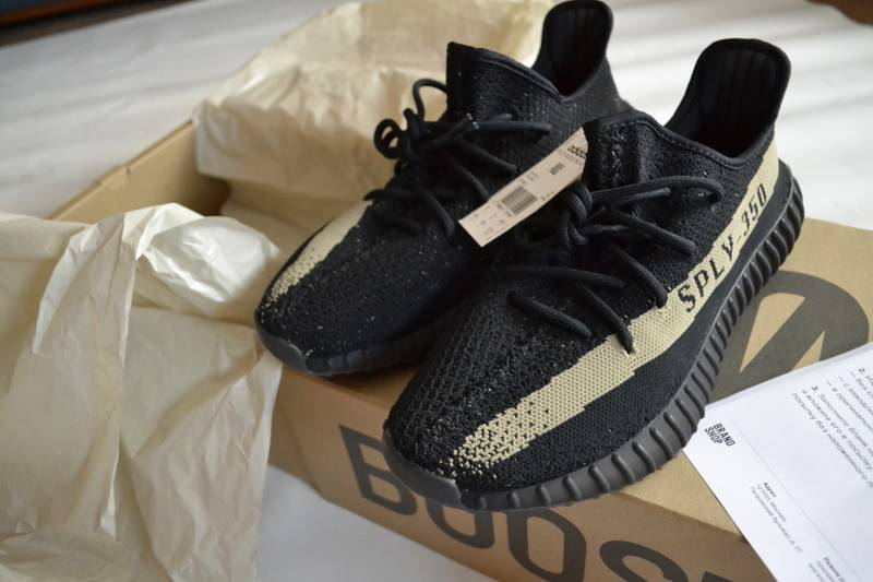 No adidas Originals Yeezy Boost 350 V2 Black/White Release