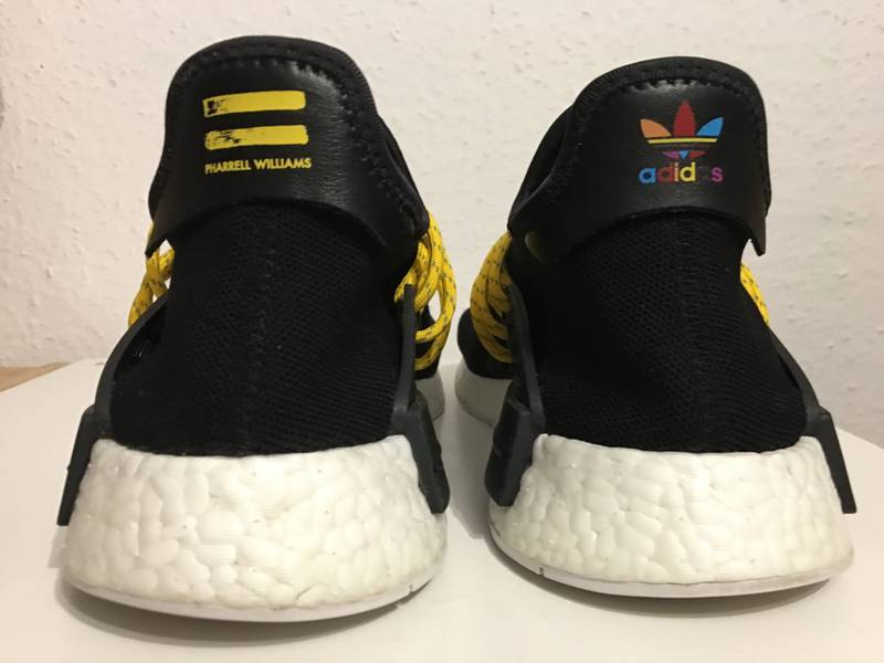 BUY NOW! Adidas NMD 'HUMAN RACE' RED by Pharrell Williams