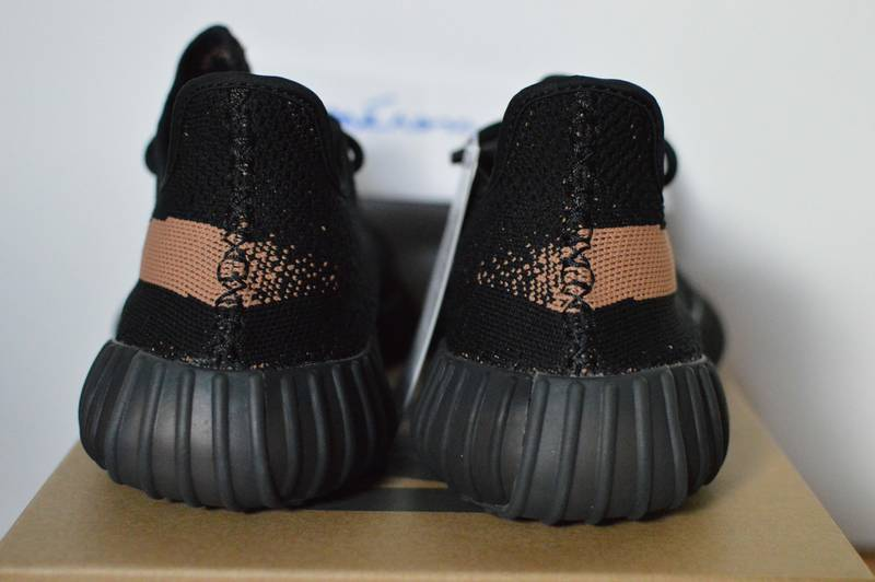 Adidas Yeezy Boost SPLY 350 v2 Core Black Copper Kanye West SZ