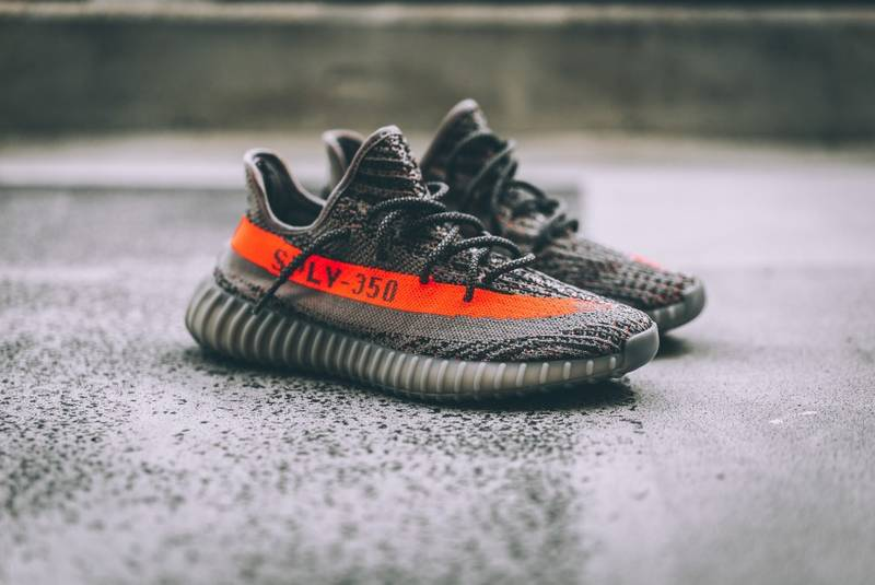 51dad5be5834c Cheap Adidas Yeezy Boost 350 V2 Bred Black And Red BY9612