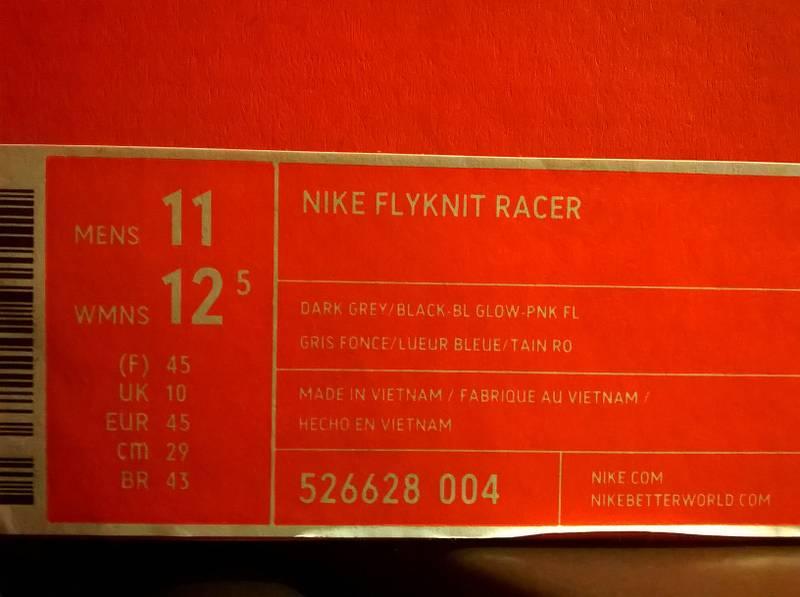 "Nike Flyknit Racer Multicolor ""Multis"" - photo 2/3"