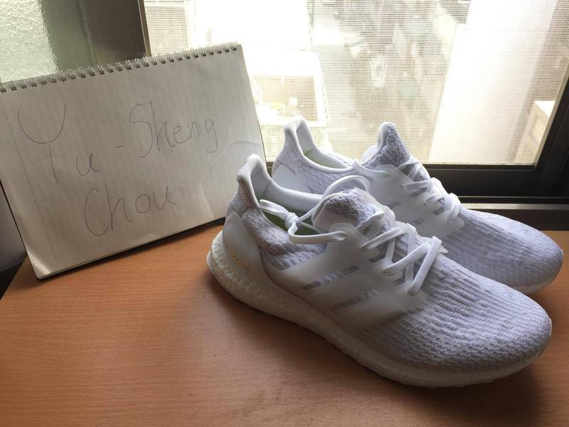 NEW ULTRA BOOST 3.0 NAVY BLUE MEN SZ 11.5 BA 8843